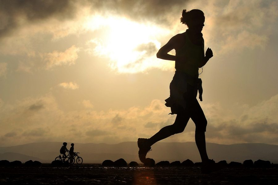 Running improves the condition