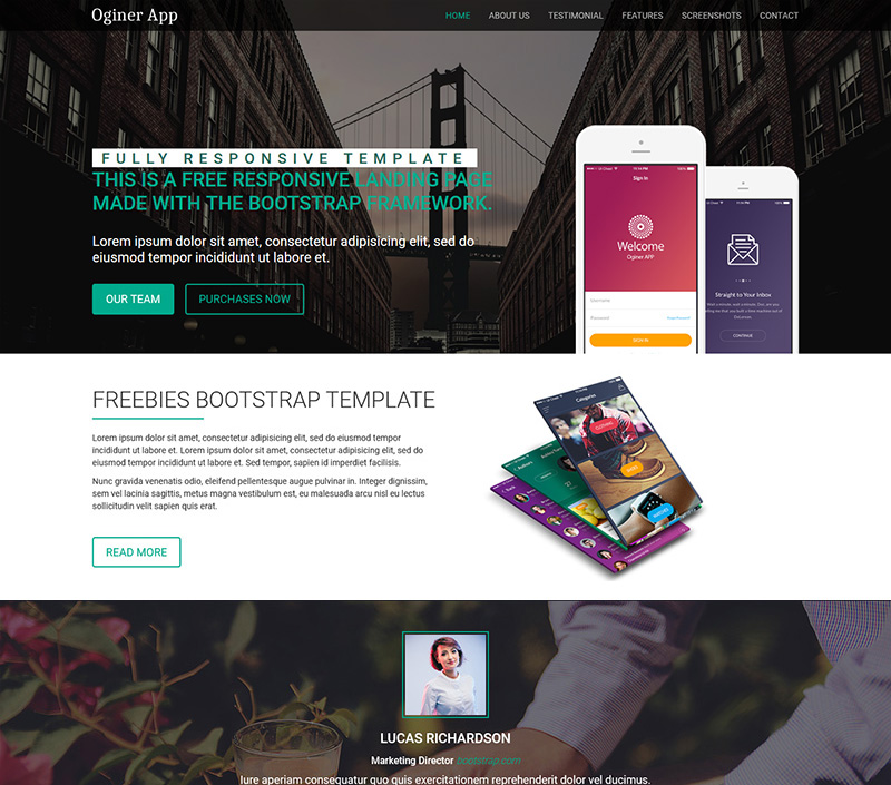 One Page Multi-Purpose Theme